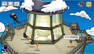 Club Penguin Jet Pack