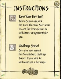 Fire Dojo Instructions
