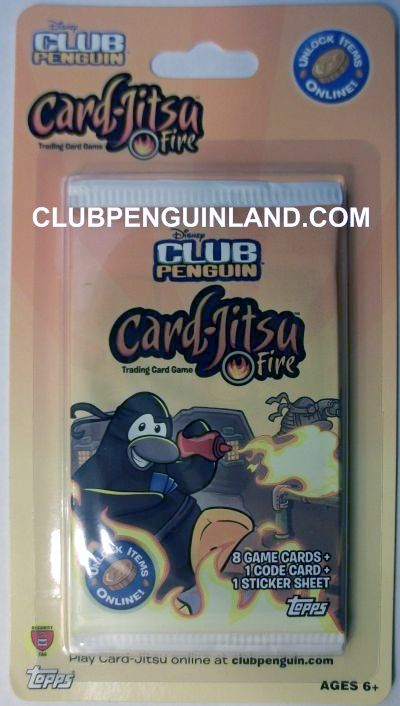 Club Penguin Card Jitsu Fire Cards
