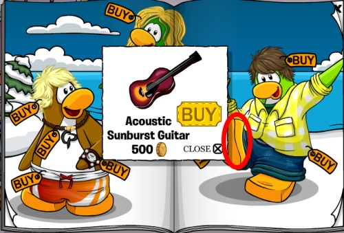 how to get blond hair club penguin