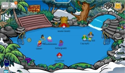Club Penguin Super Rink