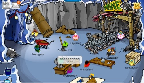 Club Penguin Mine