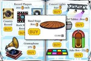 Club Penguin Band Stage