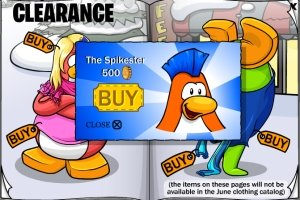 Image of Club Penguin Spikester
