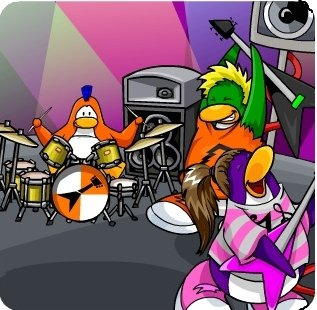 Picture of Club Penguin Music Jam