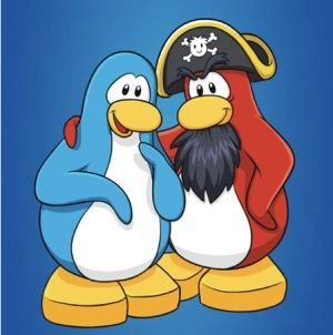 Rockhopper from Club Penguin
