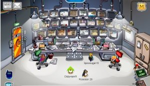 Image of PSA agent HQ on Club Penguin